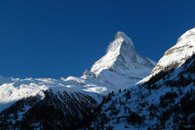 El Matterhorn real