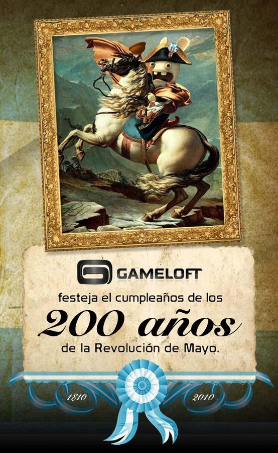 Gameloft Saludos Bicentenario Argentina