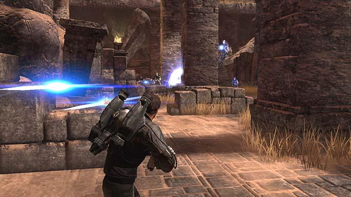 Dark Void gameplay