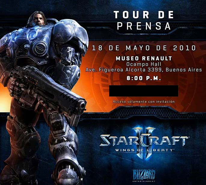 Starcraft II: Wings of Liberty en Argentina