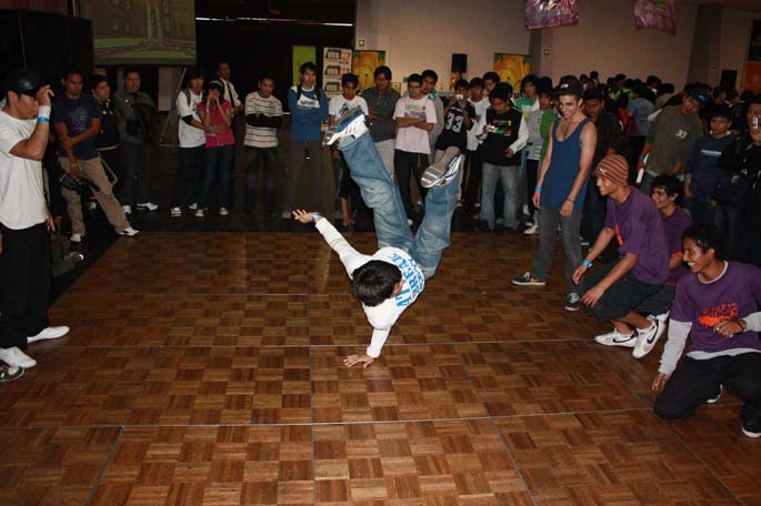 Audition Latino en Peru - Breakdance