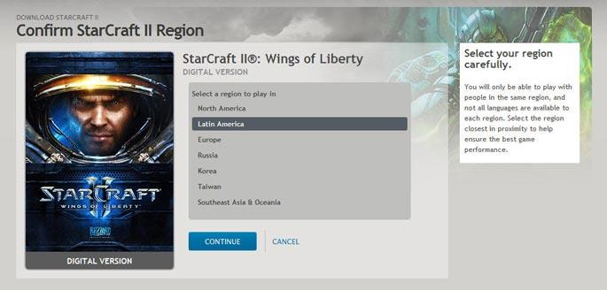 StarCraft II Download castellano