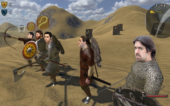 Irrompibles vs. Mount & Blade: Warband
