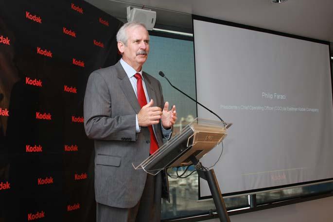 Philip Faraci, CEO de Kodak