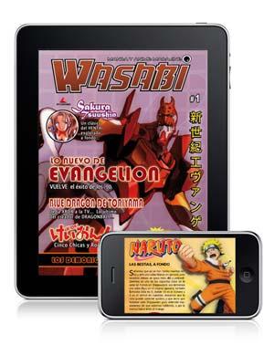 Wasabi Web Magazine en el App Store