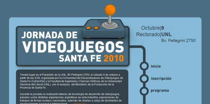 Jornada de Videojuegos Santa Fe 2010