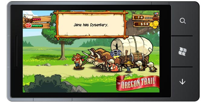 The Oregon Trail for Windows Phone 7