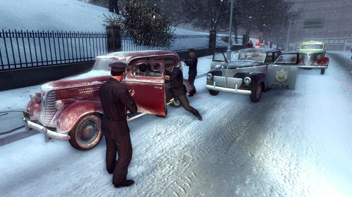 Mafia II screen