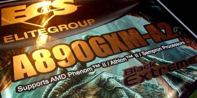 ECS A890GXM-A2 Motherboard