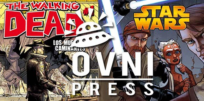 OVNI Press presenta sus nuevos comics