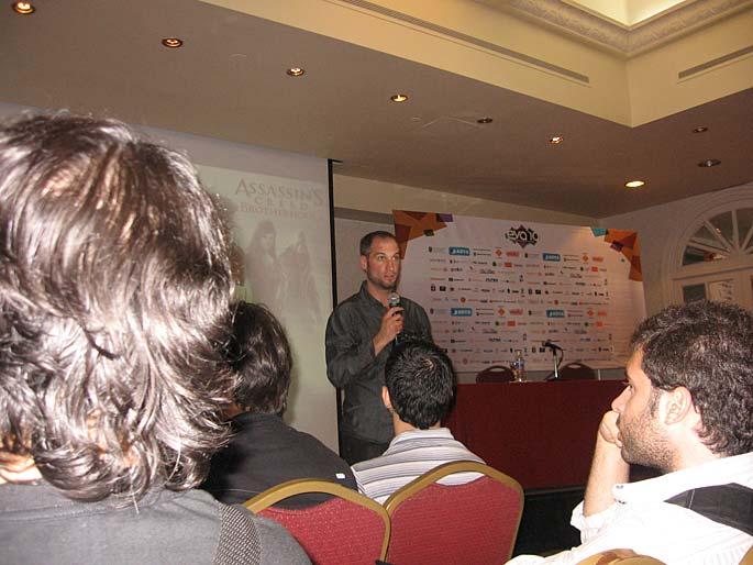 EVA 2010 en fotos: Pablo Toscano de Ubisoft Québec