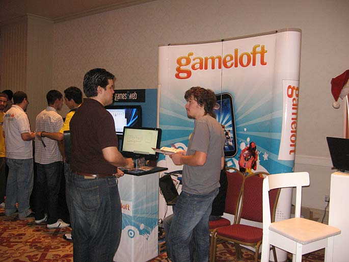 EVA 2010 en fotos: Gameloft Argentina