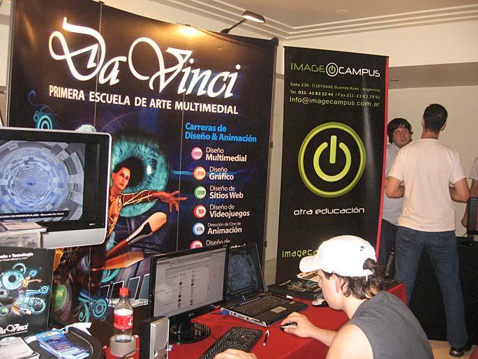 EVA 2010 en fotos: Da Vinci & Image Campus
