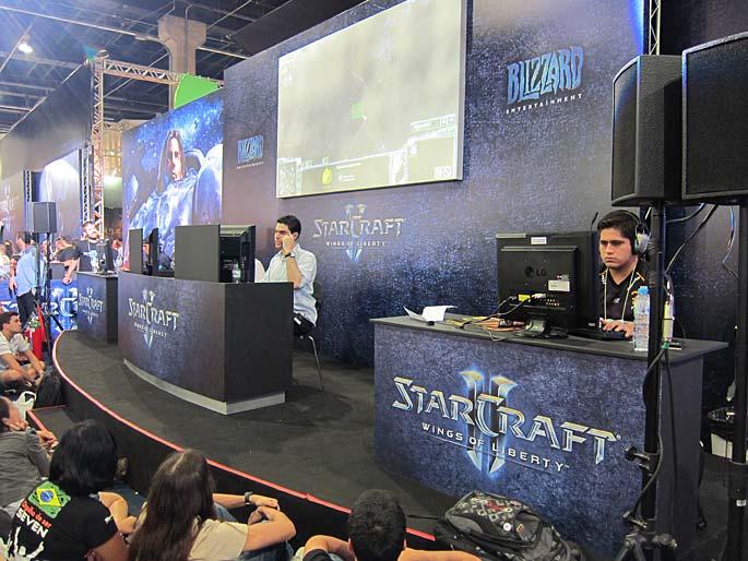 Brasil Game Show: Primer Torneo Latinoamericano por Invitación de StarCraft II