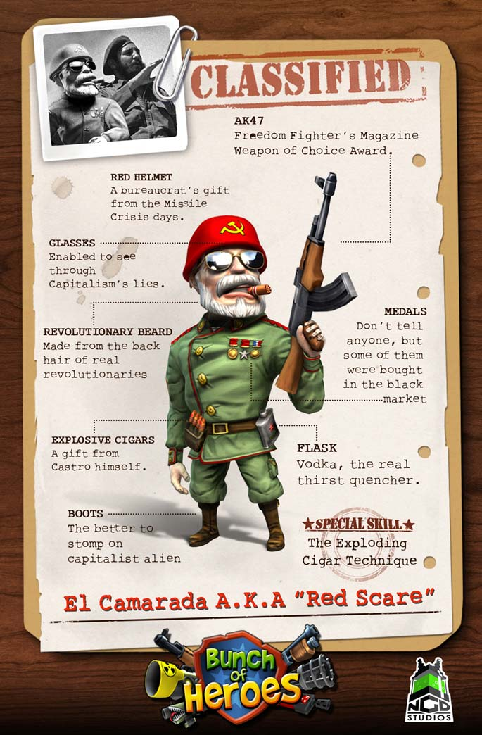 Bunch of Heroes: Red Scare