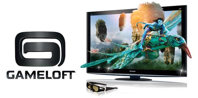 Gameloft & Panasonic VIERA