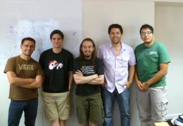 Global Game Jam: Zombies On Board: El team de Rodrigo Valdone