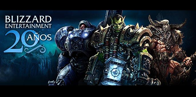 Blizzard 20 años: Concurso de video