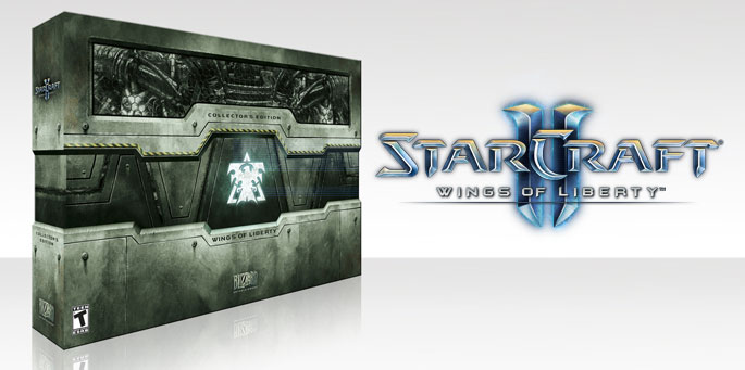 StarCraft II: Wings of Liberty Edición de Coleccionista