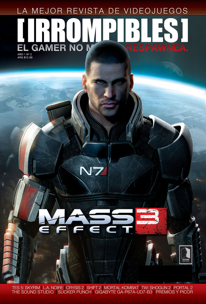 Revista [IRROMPIBLES] 02: Mass Effect 3