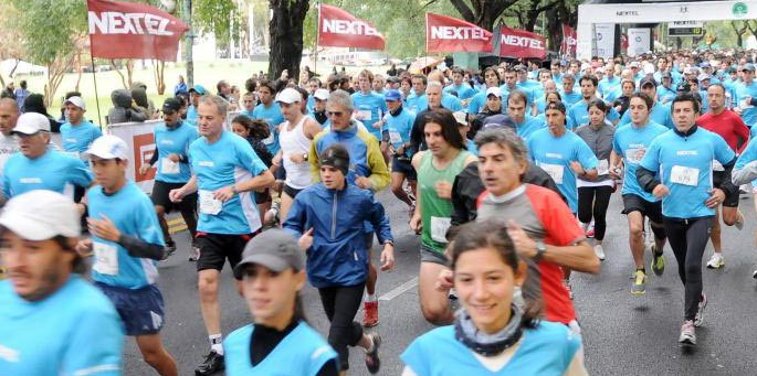 Maratón solidaria 10k de la fundación nextel