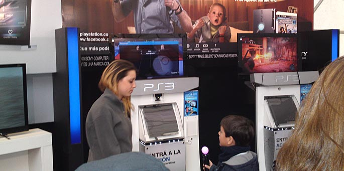 Game On! 2011 en Buenos Aires Futura