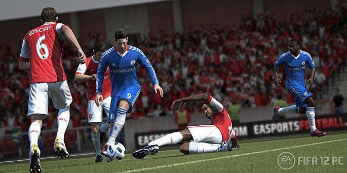 FIFA 12 en PC, PS3 y X360