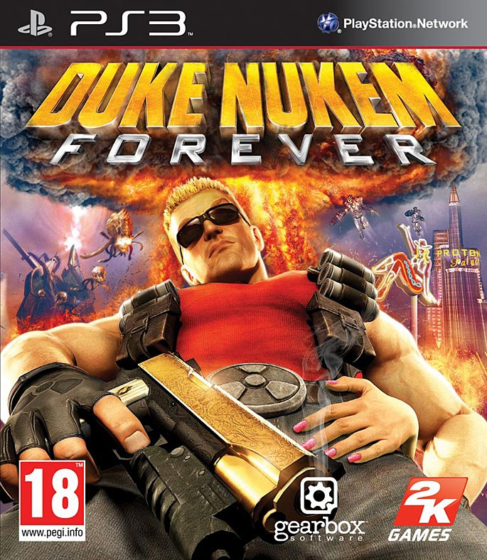 Duke Nukem Forever PS3 Box