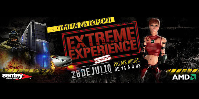 Extreme Experiencie by AMD & Sentei