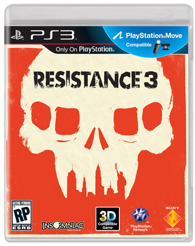 Resistance 3 front case