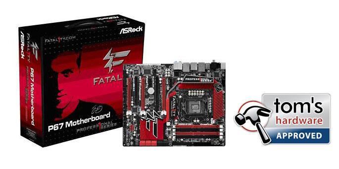 ASRock Fatal1ty P67 Professional para Gamers