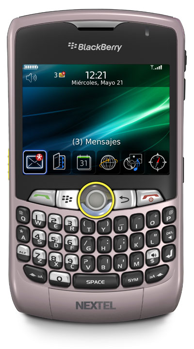 BlackBerry Curve 8350i PINK