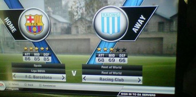 Disponible la demo de FIFA12