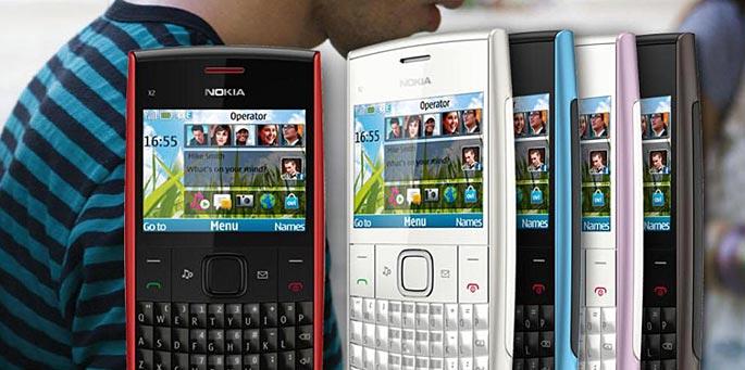 NOKIA X2-01 con teclado QWERTY