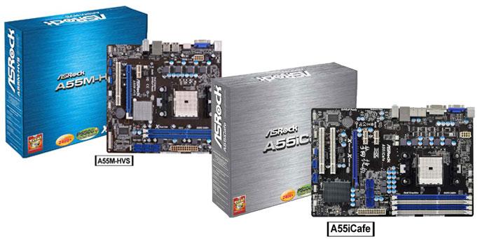 ASRock A55 Motherboards