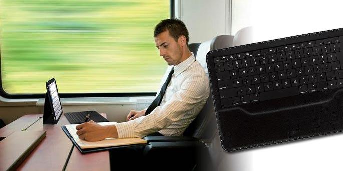 Genius teclado LuxePad inalámbrico para iPad