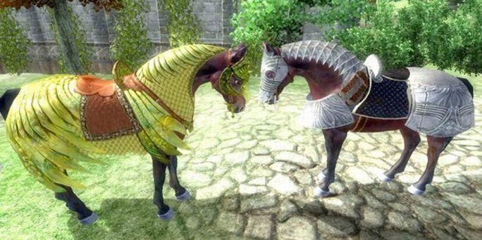 Skyrim no va a tener armadura para caballos