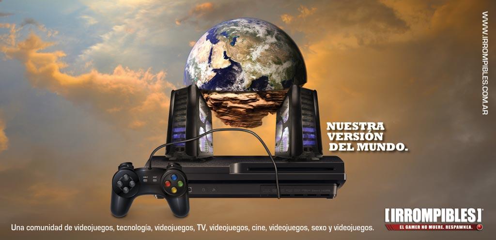 [IRROMPIBLES] y los medios argentinos de video juegos