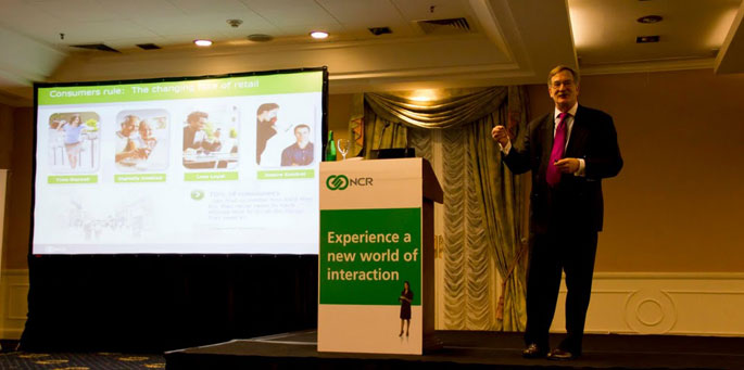 Rick Chavie, Global Retail Marketing Manager de NCR Corporation