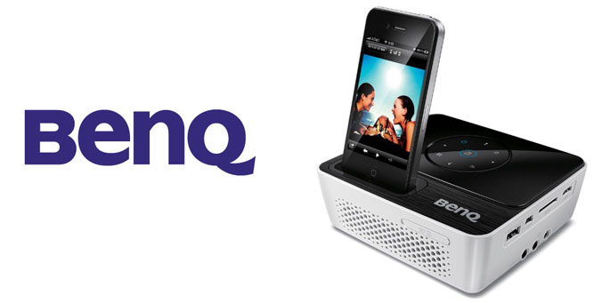 BenQ mini proyector LED GP2 para iPod y iPhone