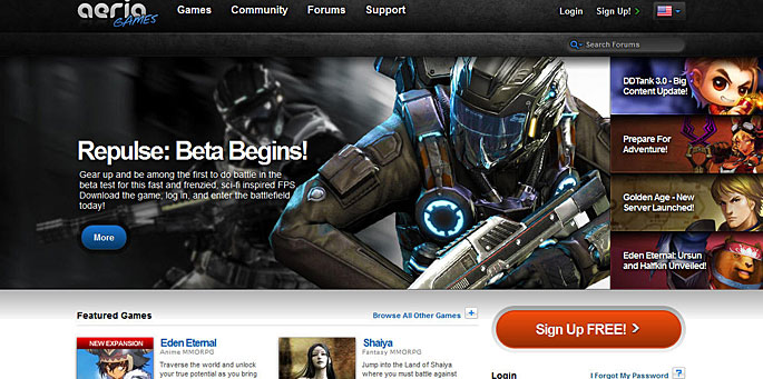 Aeria Games se expande