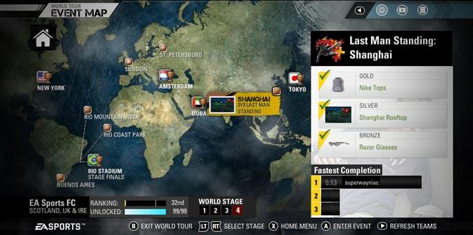 FIFA Street Social Network