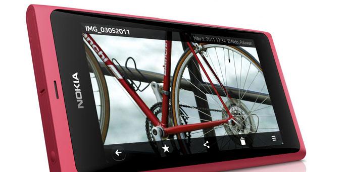 Nokia N9 magenta con CLARO