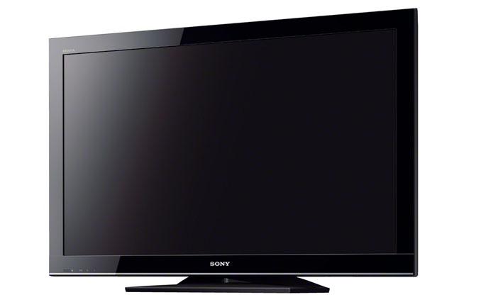 Sony TV en el CES 2012