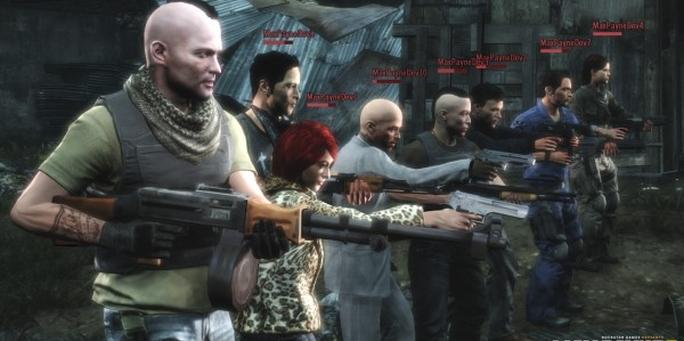 Llevá tu pandilla de Max Payne 3 a GTAV