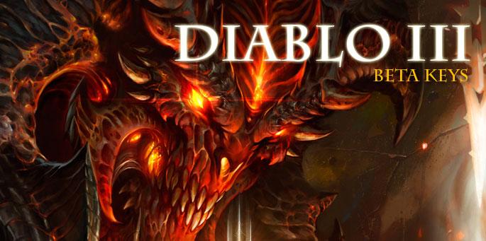 Diablo III Beta Keys
