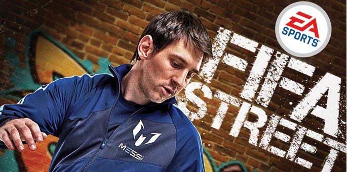 FIFA Street y Fundación Leo Messi
