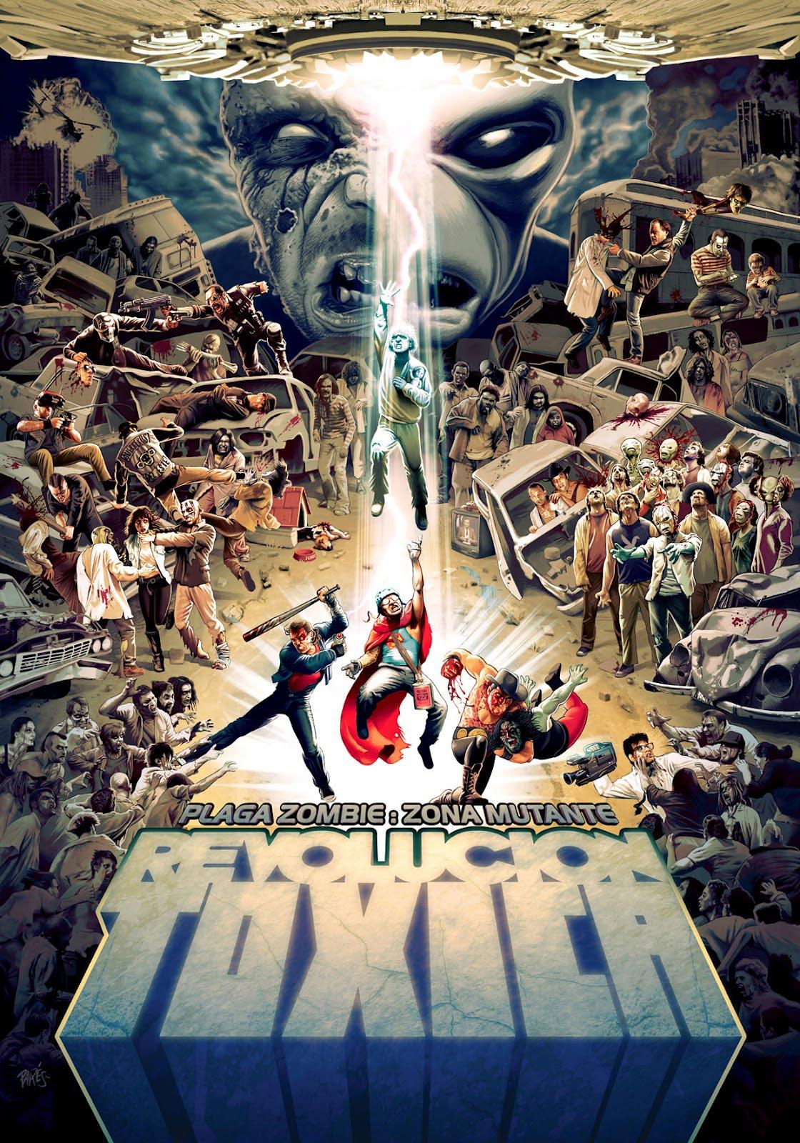 PLaga Zombie: Zona Mutante: Revolución Tóxica (poster)