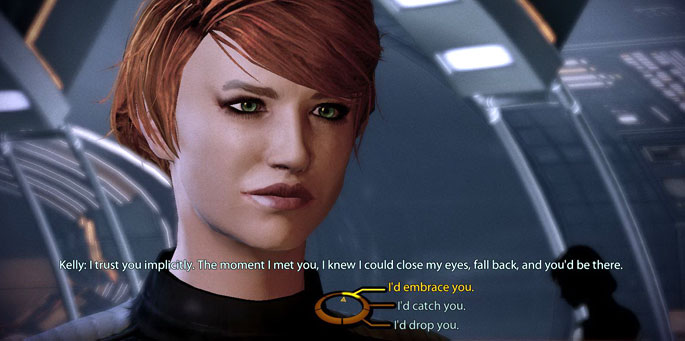 Mass Effect y el amor