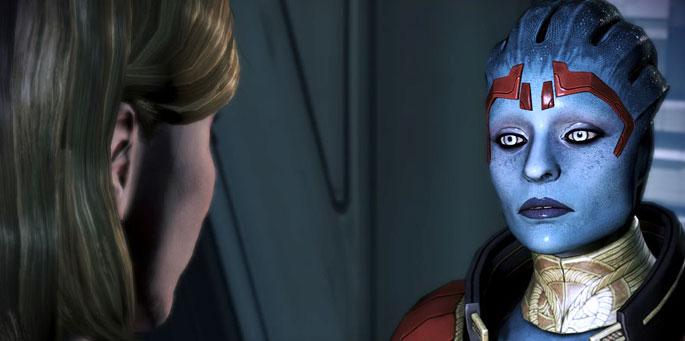 El amor en Mass Effect